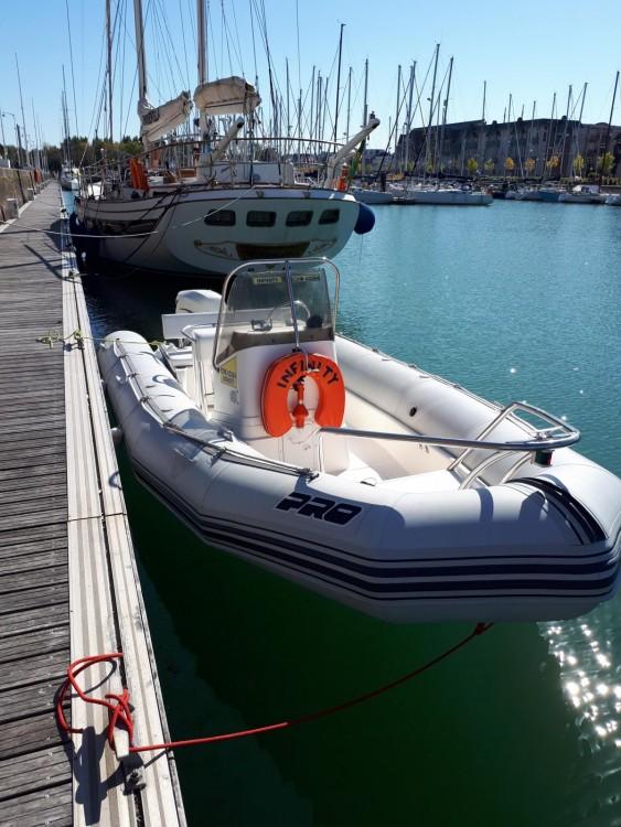 Verhuur Rubberboot in Le Havre - Zodiac Open Pro 6.50