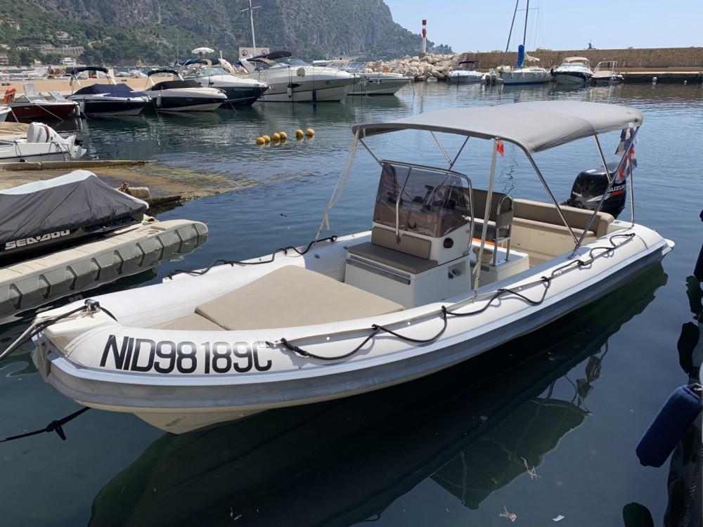 Jachthuur in Beaulieu-sur-Mer - Gommonautica G65 via SamBoat