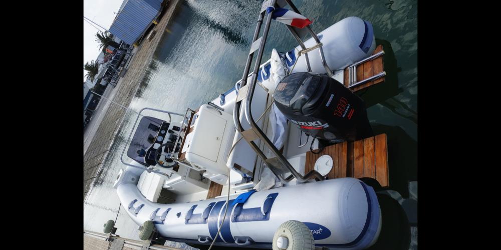 Huur Rubberboot met of zonder schipper Northstar in La Ciotat