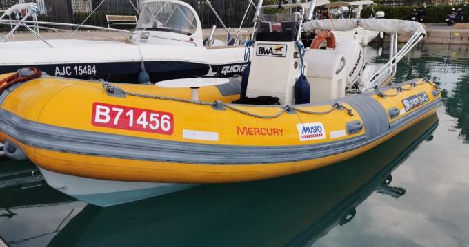 Huur Rubberboot met of zonder schipper Bwa in Saint-Laurent-du-Var