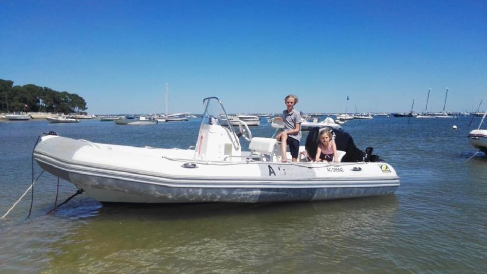 Huur Rubberboot met of zonder schipper Zodiac in Lège-Cap-Ferret