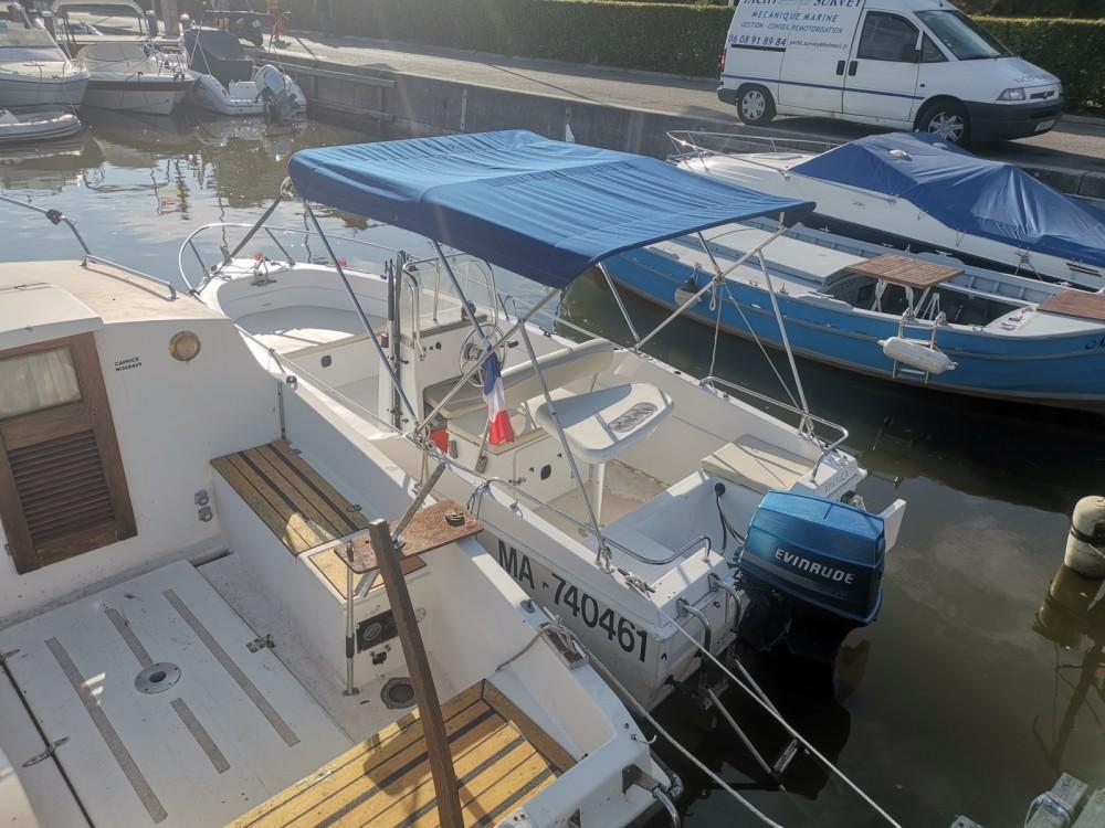Bootverhuur B2 Marine Cap Ferret 502 Open Swing in Mandelieu-la-Napoule via SamBoat