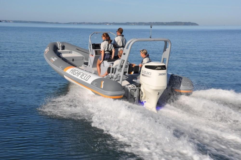 Verhuur Rubberboot in Arzon - Highfield 6.60