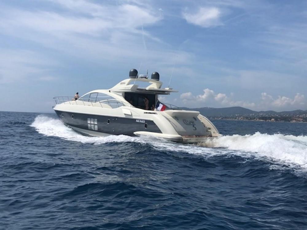 Huur Jacht met of zonder schipper Azimut in Fréjus