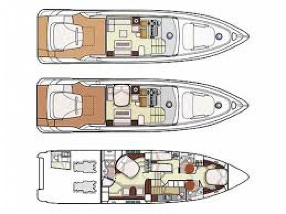Verhuur Jacht in Fréjus - Azimut 68S