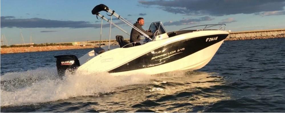 Verhuur Motorboot in Torrevieja - Okiboats Barracuda 545 Open