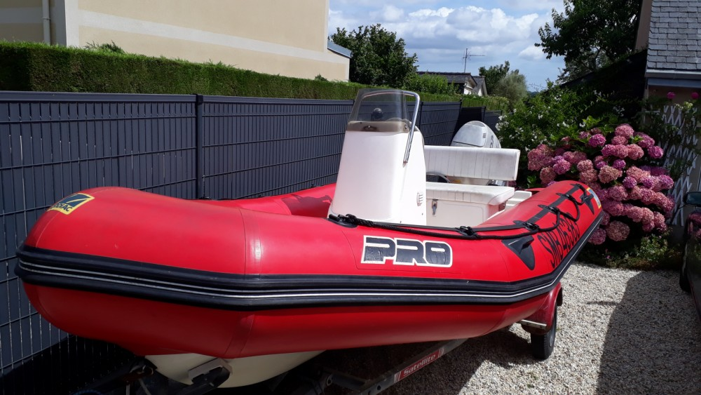 Jachthuur in La Richardais - Zodiac Pro ll 470 via SamBoat
