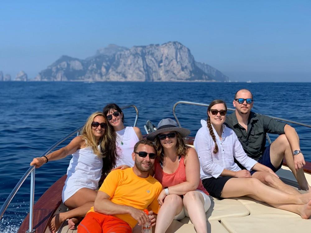 Huur Motorboot met of zonder schipper Apreamare in Positano