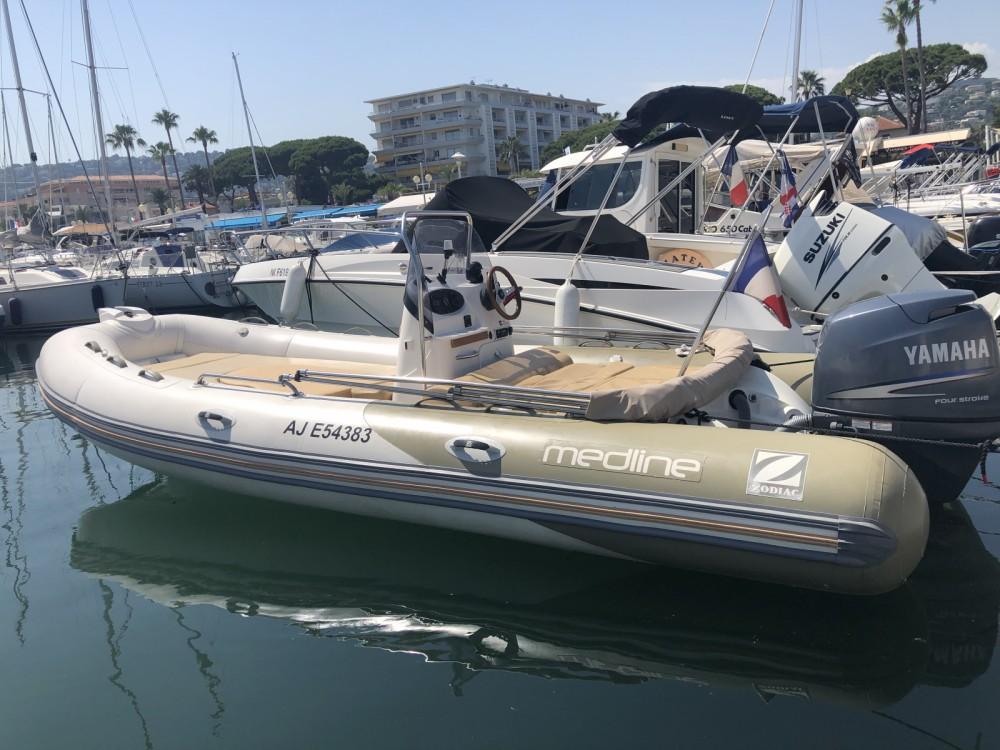 Jachthuur in Golfe-Juan - Zodiac Medline 550 Strongan via SamBoat