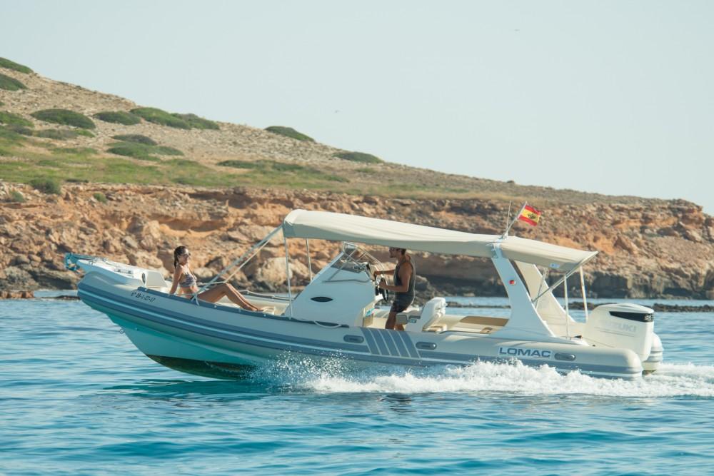 Bootverhuur Santa Eulària des Riu goedkoop Lomac 790 IN