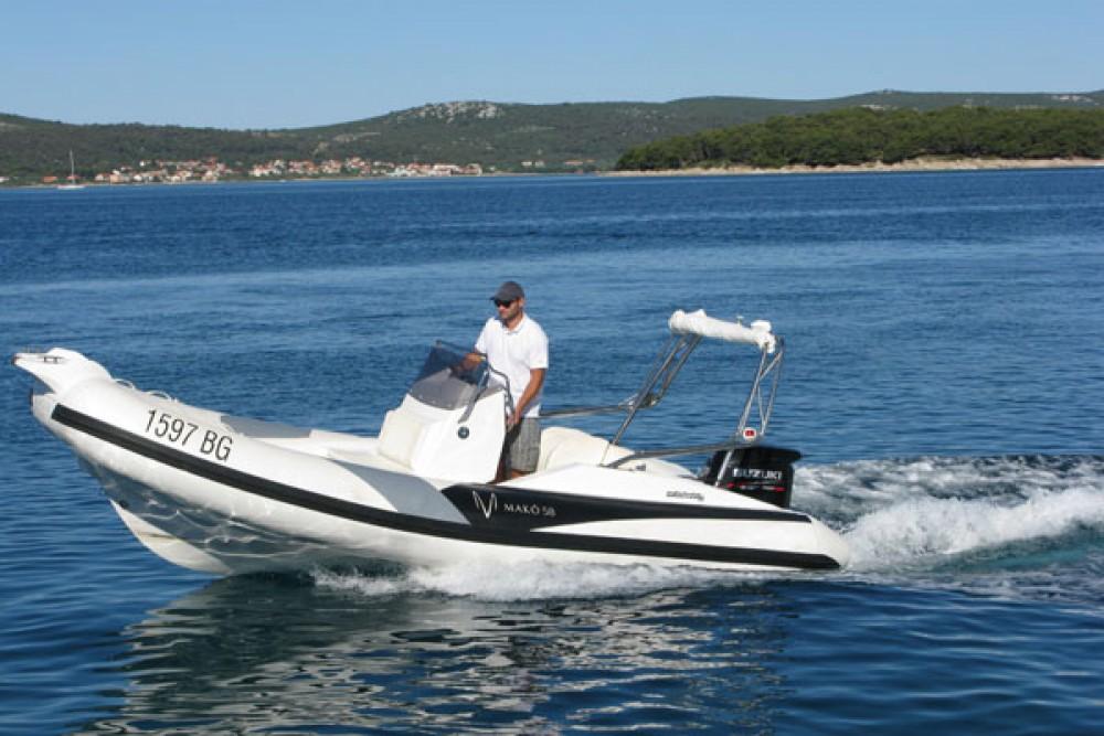 Rubberboot te huur in Grad Biograd na Moru voor de beste prijs