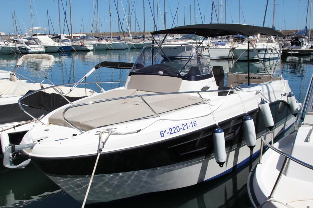 Huur Motorboot met of zonder schipper Quicksilver in la Vila Joiosa / Villajoyosa
