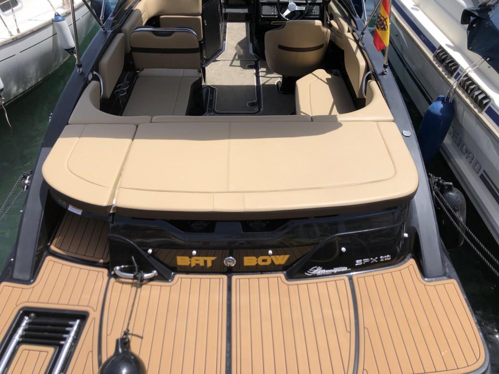 Verhuur Motorboot in la Vila Joiosa / Villajoyosa - Sea Ray SPX 210