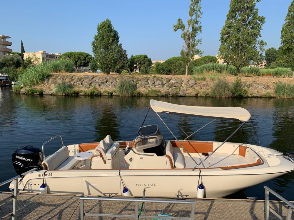 Verhuur Motorboot in Mandelieu-la-Napoule - Invictus  FX 270
