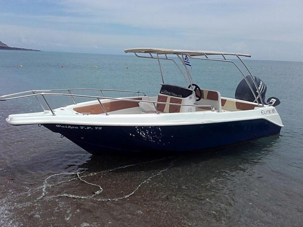Huur Motorboot met of zonder schipper Elite in Rhodos