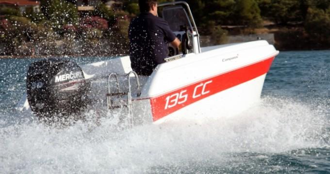 Verhuur Motorboot in Rhodes - Compass 135 CC