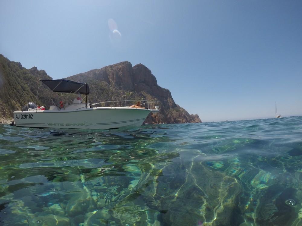 Verhuur Motorboot in Ajaccio - White Shark White Shark 225