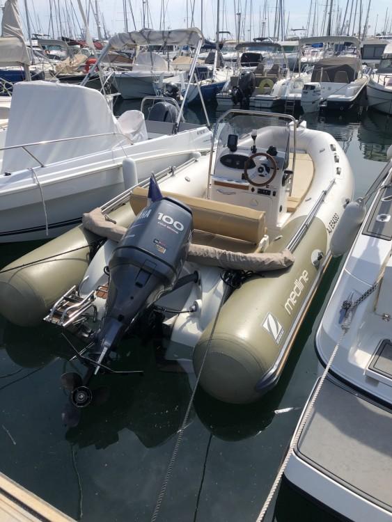 Verhuur Rubberboot in Golfe-Juan - Zodiac Medline 550 Strongan