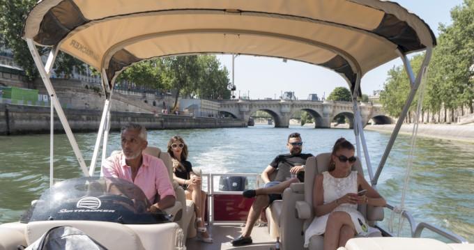 Bootverhuur Suntracker Party Barge 24 in Paris via SamBoat