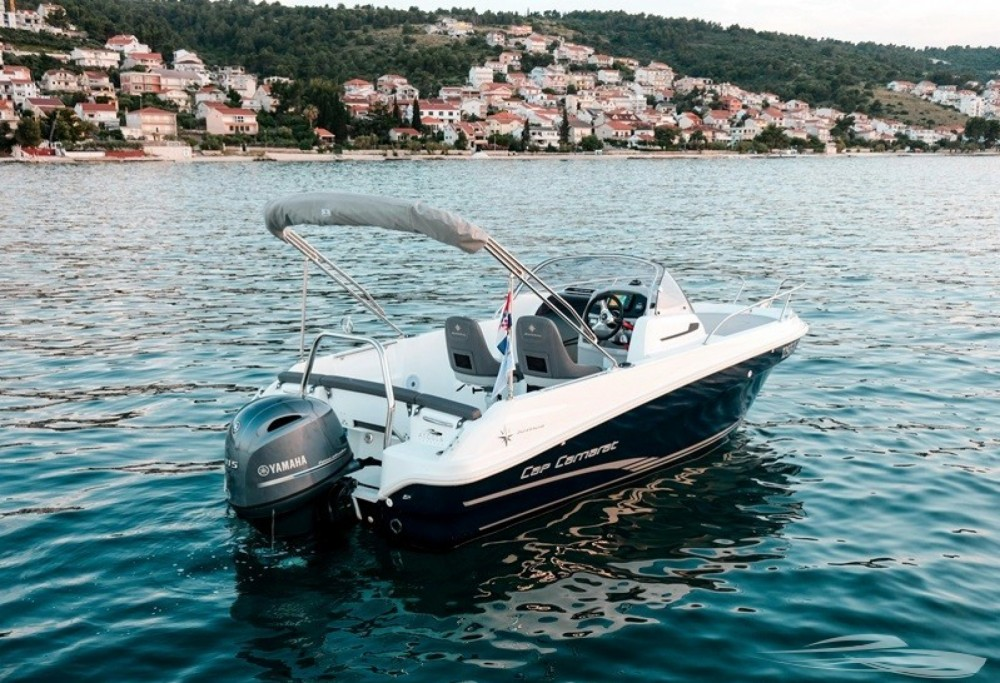 Verhuur Motorboot in Trogir - Jeanneau Cap Camarat 5.5 CC