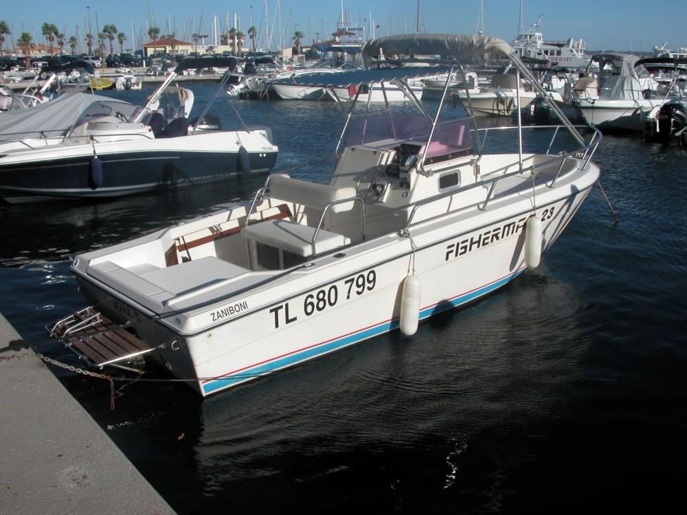 Verhuur Motorboot fisherman met vaarbewijs