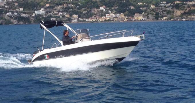 Jachthuur in Salerno - tecnofiber almar 190 via SamBoat