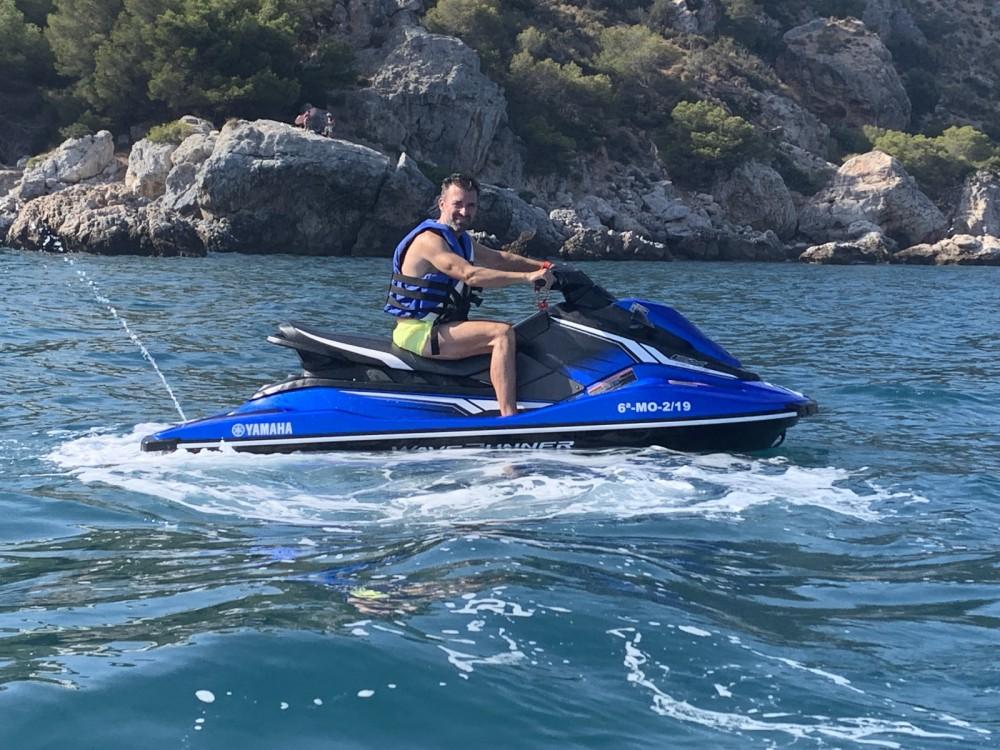 Verhuur Rubberboot in Nerja - Yamaha EX Deluxe