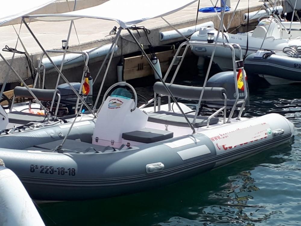 Huur Rubberboot met of zonder schipper Nautitech in Formentera