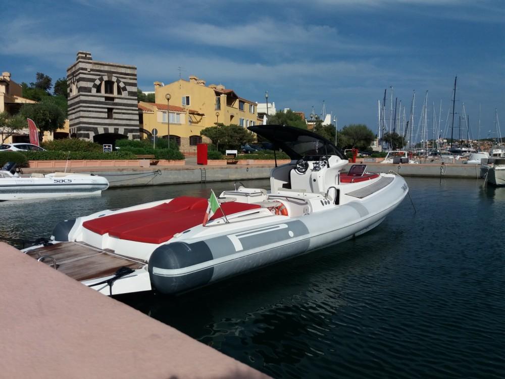 Huur Rubberboot met of zonder schipper Pirelli in Porto Rotondo