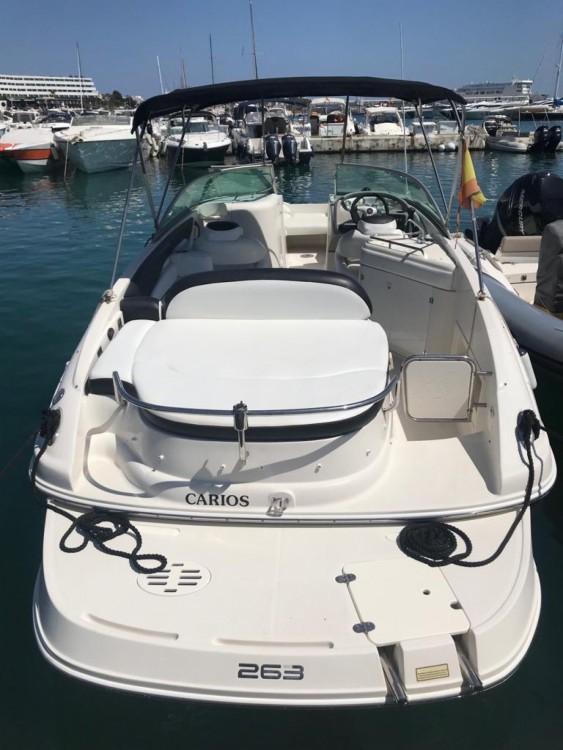 Huur een Monterey 263 Explorer in Ibiza