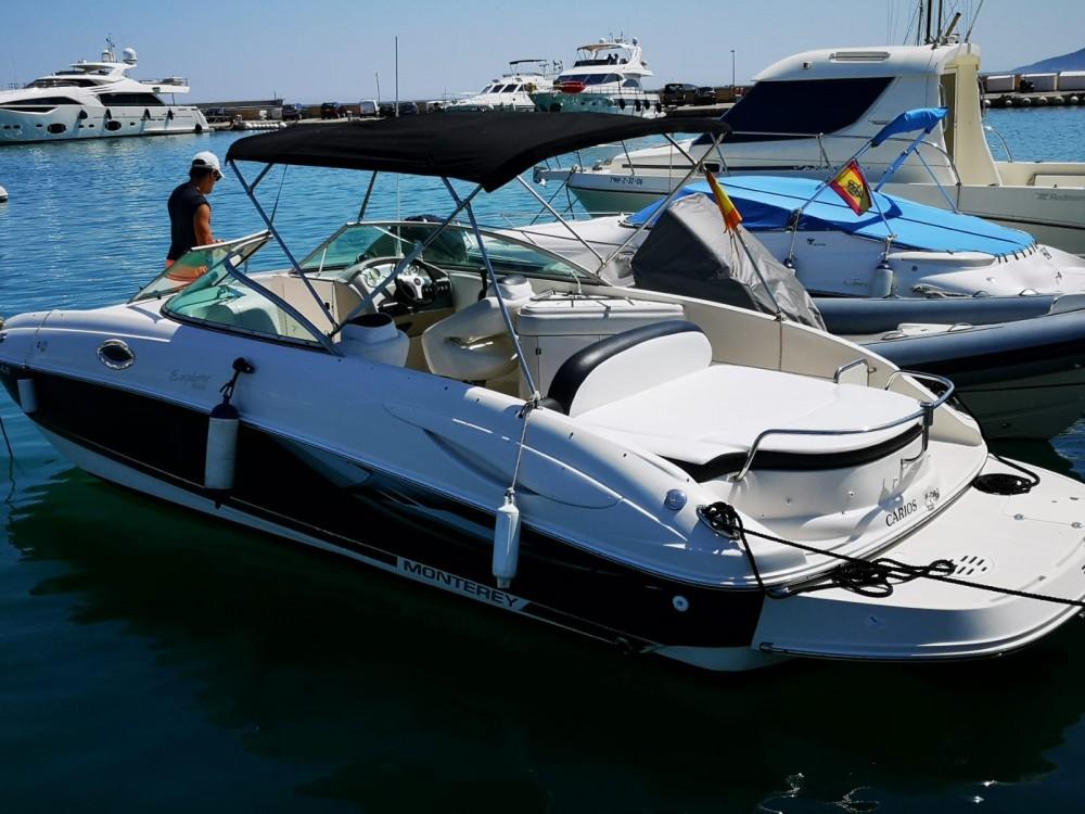 Bootverhuur Monterey 263 Explorer in Ibiza via SamBoat