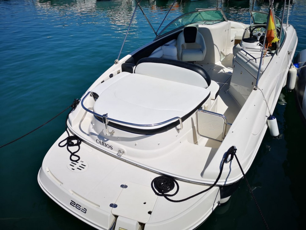 Verhuur Motorboot in Ibiza - Monterey 263 Explorer