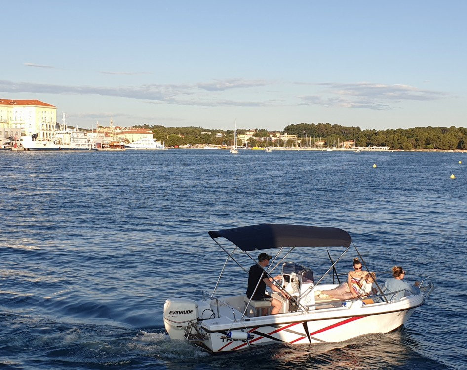 Bootverhuur Polyform Triakis 17,5 in Poreč via SamBoat