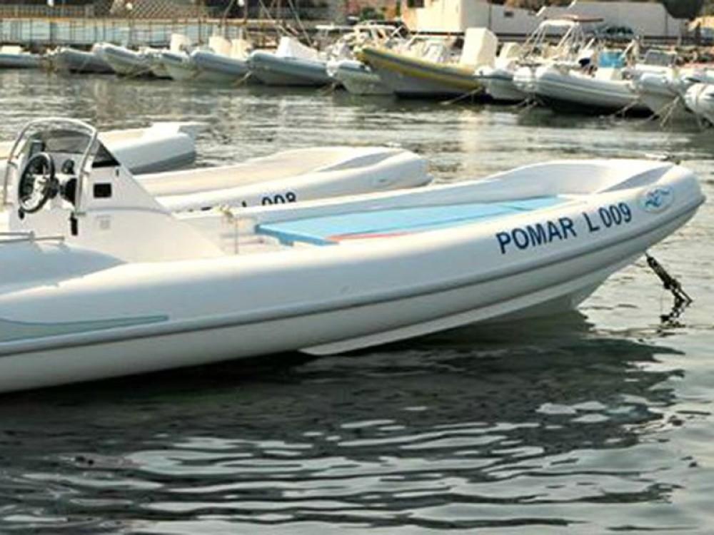 Rubberboot te huur in Trapani voor de beste prijs