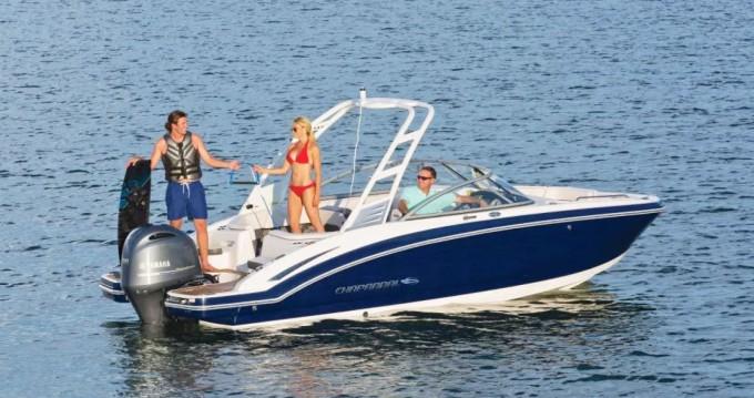 Verhuur Motorboot Chaparral met vaarbewijs