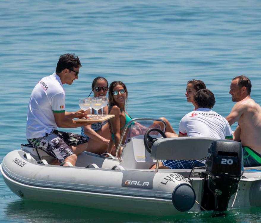 Huur een Lagoon Lagoon 450 Sport Top in Algarve