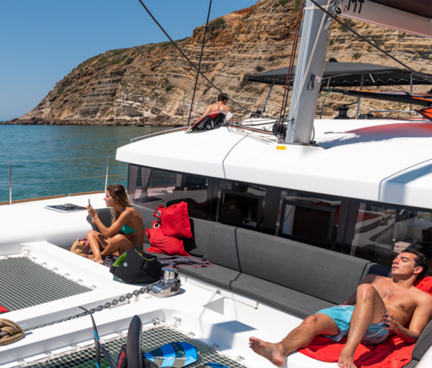 Verhuur Catamaran in Algarve - Lagoon Lagoon 450 Sport Top