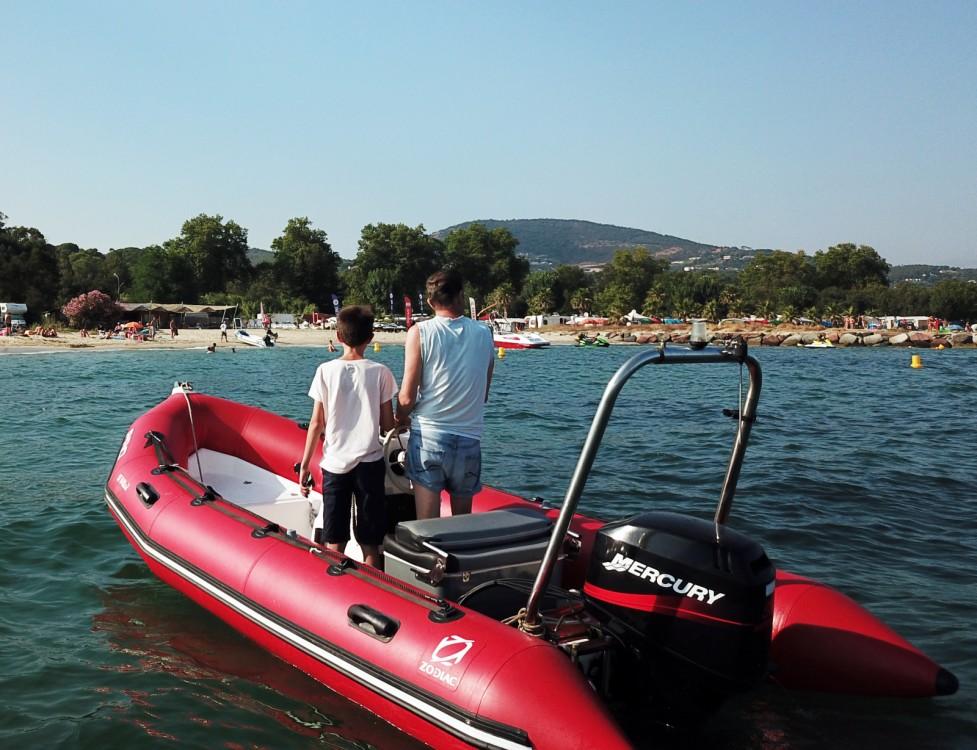 Verhuur Rubberboot in Grimaud - Zodiac Pro 500