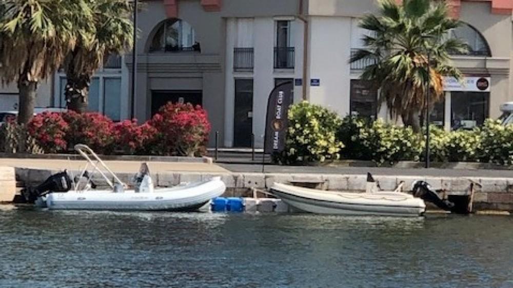Huur Rubberboot met of zonder schipper Zodiac in