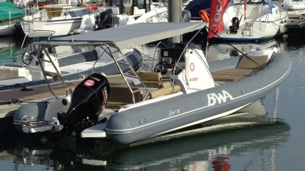 Jachthuur in La Trinité-sur-Mer - Bwa Sport 26 GTO via SamBoat
