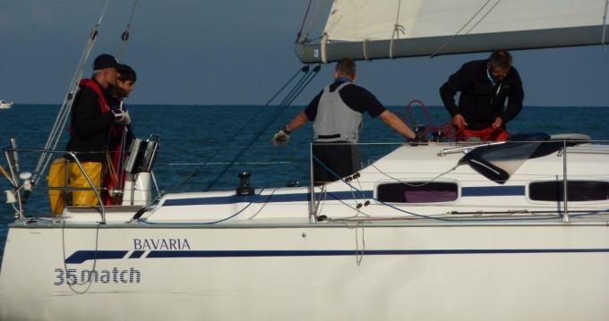 Verhuur Zeilboot in Dieppe - Bavaria Bavaria 35 Match