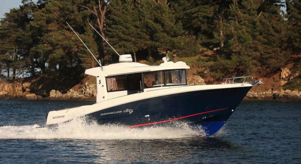 Verhuur Motorboot in La Trinité-sur-Mer - Bénéteau Barracuda 9