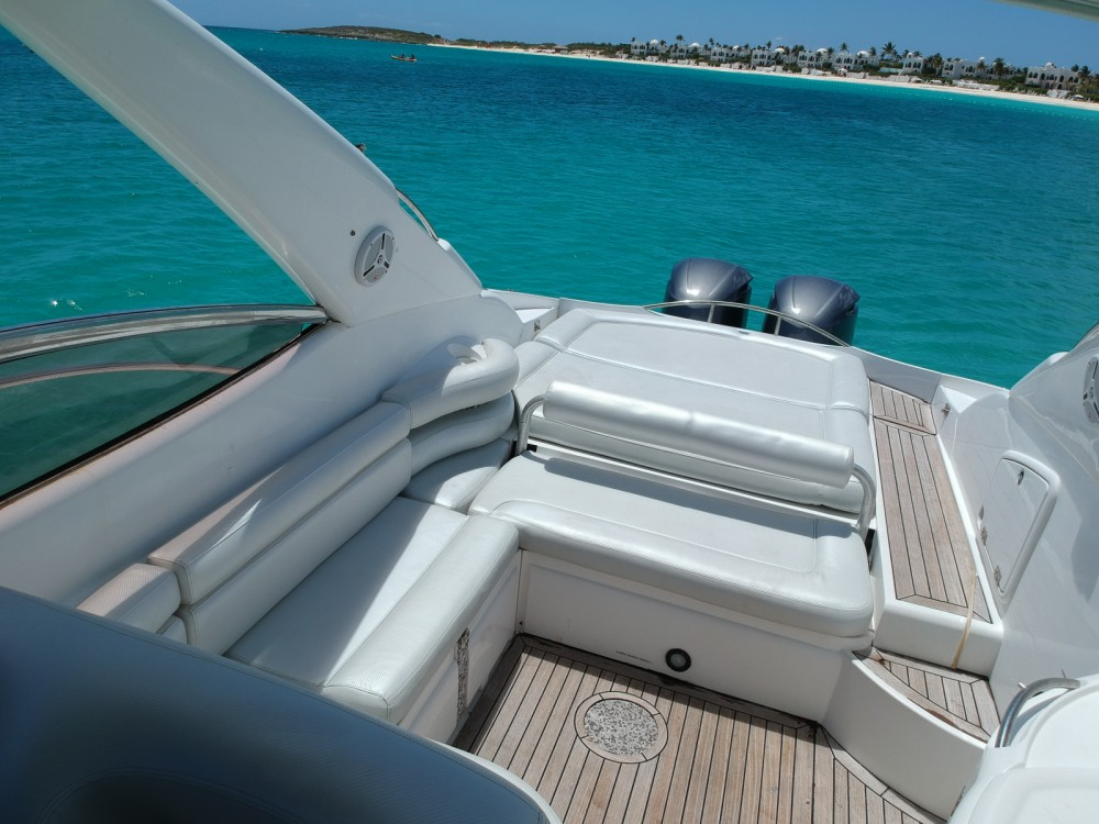 Huur een Sunseeker Superhawk 40 in Simpson Bay