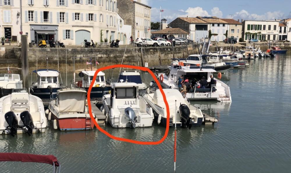 Motorboot te huur in Saint-Martin-de-Ré voor de beste prijs