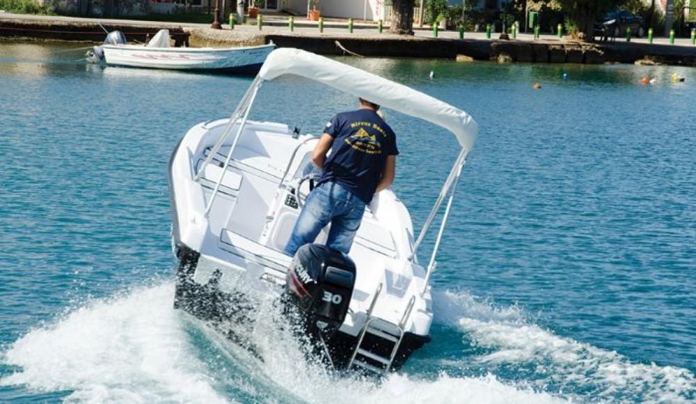 Huur Motorboot met of zonder schipper nireus in Σύβοτα