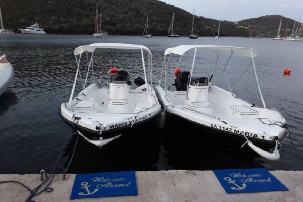 Verhuur Motorboot in Σύβοτα - nireus 455