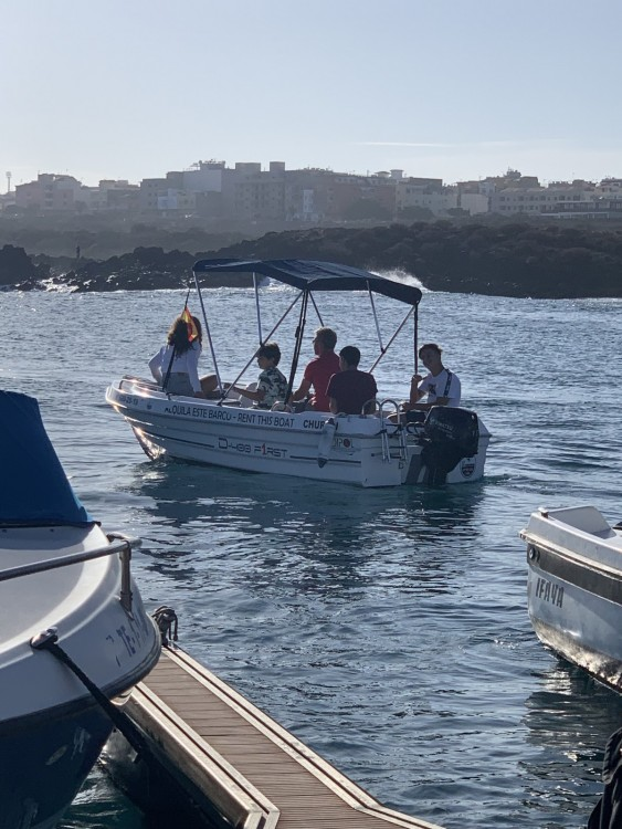 Verhuur Motorboot in Arona - Dipol D-400 F1RST