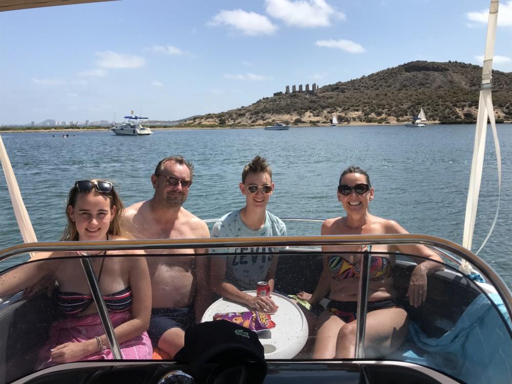 Huur Motorboot met of zonder schipper Oki Boats in Los Alcázares