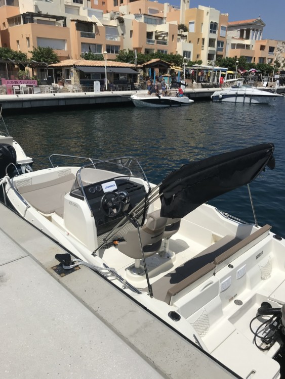 Verhuur Motorboot in Marseille - Quicksilver Activ 605 Open