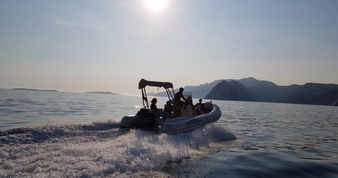 Verhuur Rubberboot in Marseille - Capelli Tempest 626